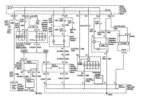 Wiring Diagram For Chevy Silverado 2000 Radio – The Wiring Diagram ...