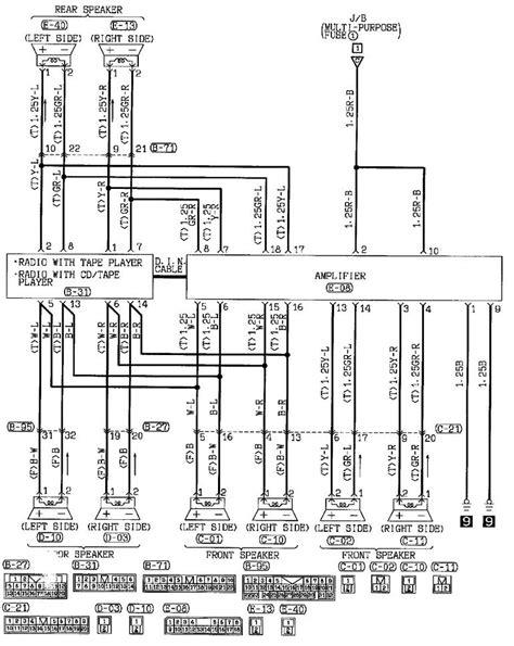1999 mitsubishi eclipse radio wiring diagram 1999 2000 mitsubishi eclipse radio wire diagram images on 1999 mitsubishi eclipse radio wiring diagram