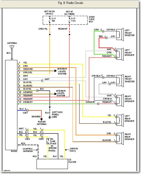 free download ebooks 2000 Isuzu Trooper Radio Wiring Diagram