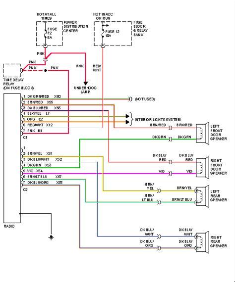 dodge dakota stereo wiring diagram images dodge dakota 2001 dodge dakota stereo wiring diagram 2001