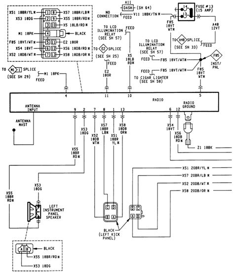 2001 jeep cherokee horn wiring diagram images jeep liberty wiring 2001 jeep cherokee wiring schematic circuit and