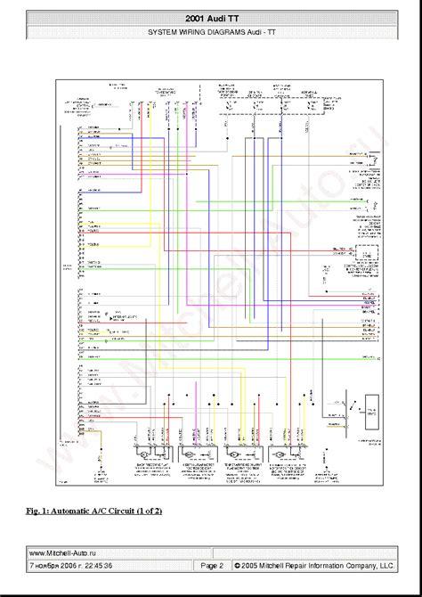 free download ebooks 2001 Audi Tt Wiring Diagram