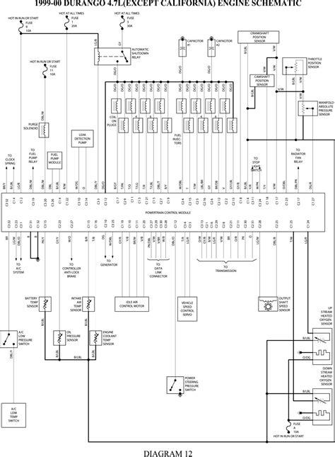 free download ebooks 2001 Dodge Durango Wiring Diagrams