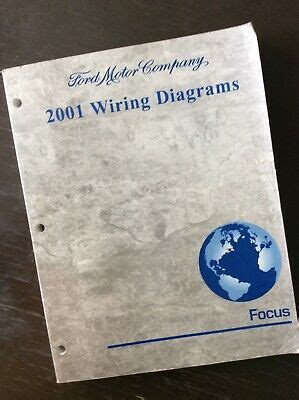2002 FORD FOCUS Wiring Diagrams Manual eBay
