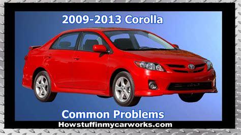 2002 Toyota Corolla Problems Defects Complaints