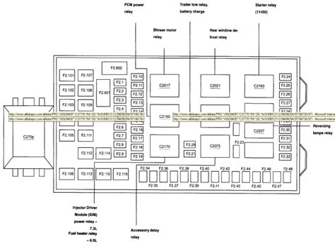 free download ebooks 2003 F 250 Fuse Diagram