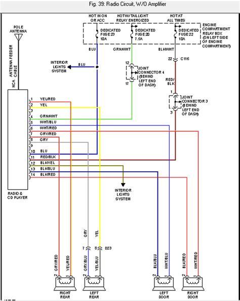2003 mitsubishi outlander stereo wiring diagram images 2003 2003 mitsubishi outlander wiring diagram 2003 schematic