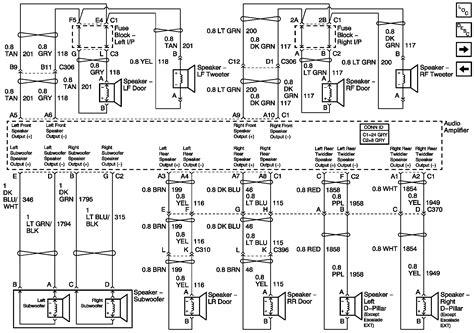 chevy silverado speaker wiring diagram images wiring 2004 chevy silverado speaker wiring diagram car wiring