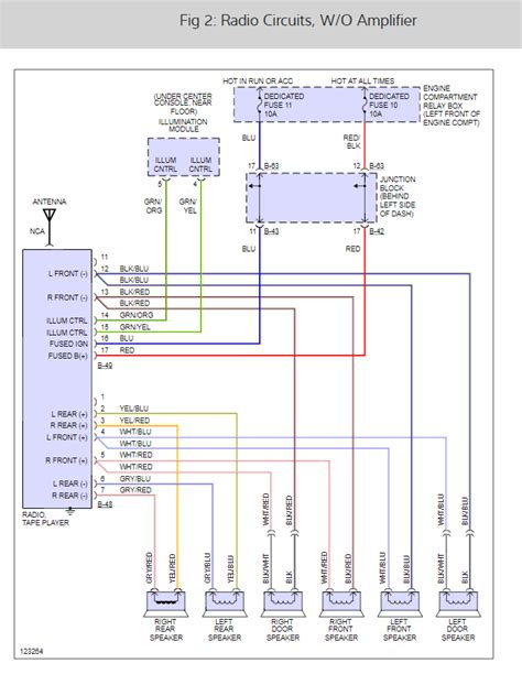 2004 Chrysler Sebring Car Stereo Wiring Diagram