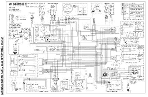 polaris sportsman wiring diagram  2004 polaris sportsman 500 ho wiring diagram images on 2004 polaris sportsman 500 wiring diagram