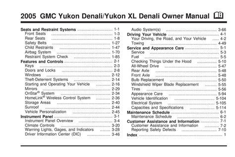 free download ebooks 2005 Gmc Yukon Navigation System Manual.pdf