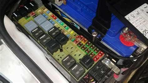 free download ebooks 2005 Range Rover Fuse Box Location