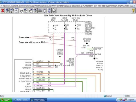 free download ebooks 2006 Ford Crown Victoria Wiring Color Codes