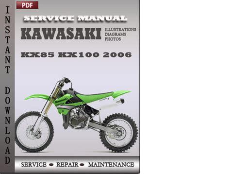 free download ebooks 2006 Kx100 Manual.pdf