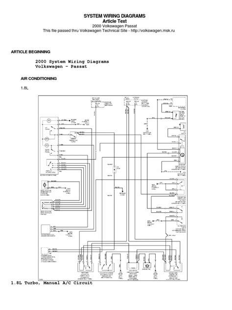 free download ebooks 2006 Vw Passat Wiring Diagram