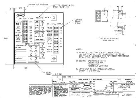 peterbilt 387 fuse box diagram peterbilt image 2007 peterbilt 387 wiring diagram images panel diagram peterbilt on peterbilt 387 fuse box diagram