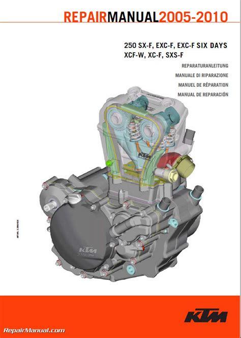 free download ebooks 2008 Ktm 250sxf Repair Manual.pdf