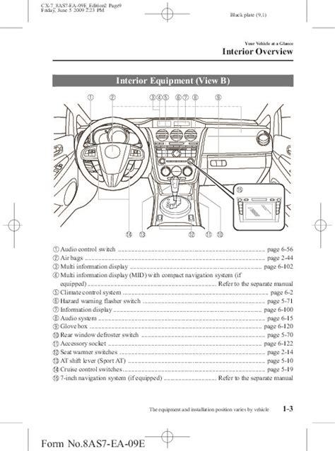 free download ebooks 2010 Mazda Cx 7 Owners Manual.pdf