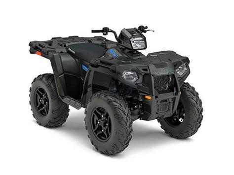 2017 Sportsman 570 SP ATV Black Polaris
