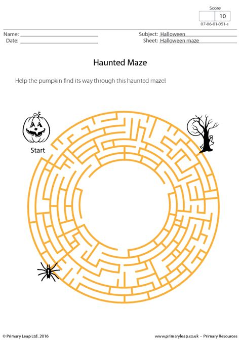 213 FREE Halloween Worksheets Busy Teacher