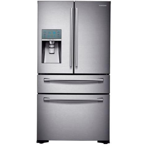 22 6 cu ft 4 Door French Door Refrigerator in Stainless