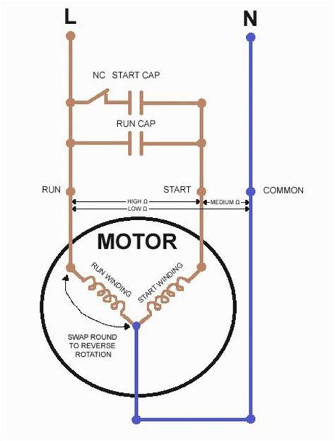 240v induction motor wiring diagram images 240v motor run capacitor diagram