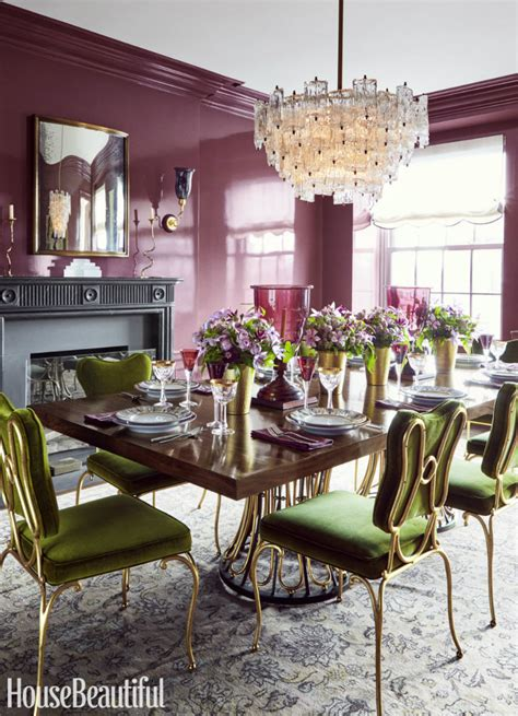 25 Colorful Dining Rooms House Beautiful