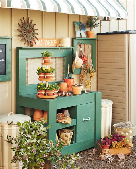 25 Cool DIY Garden Potting Table Ideas Daily source for