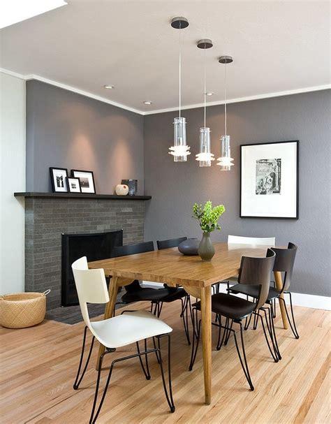 25 Elegant and Exquisite Gray Dining Room Ideas Decoist