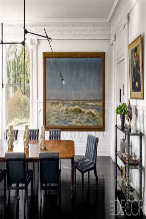 25 Modern Dining Room Decorating Ideas ELLE Decor