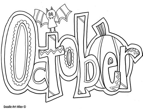 26 best months coloring pages images on Pinterest