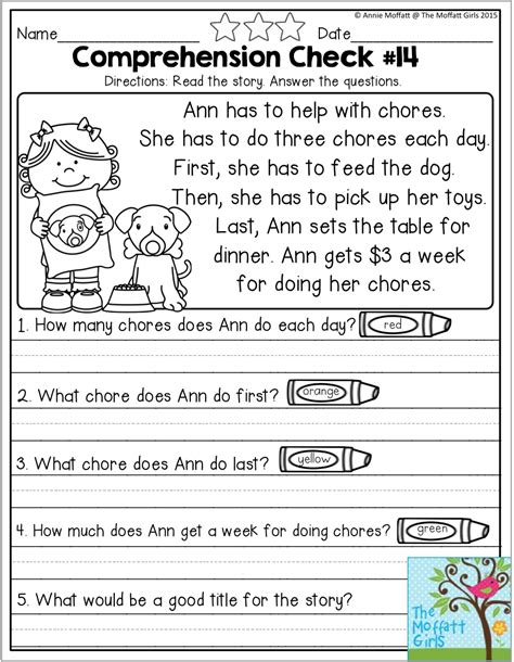 2nd Grade Reading Lessons Worksheets and No edHelper