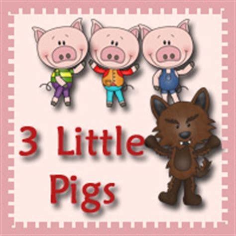 3 Dinosaurs 3 Little Pigs Pack