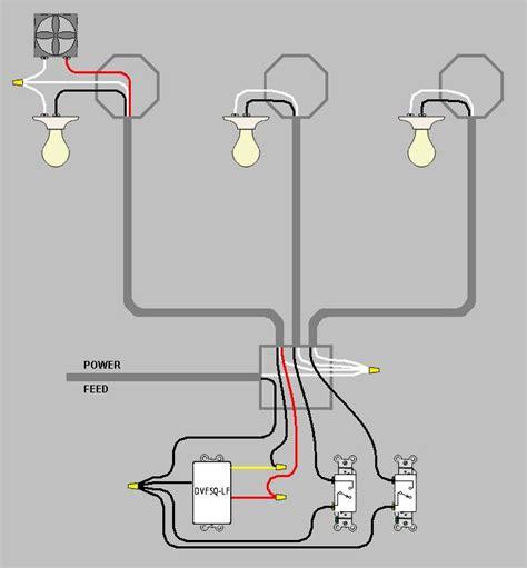 3 Gang Switch Wiring
