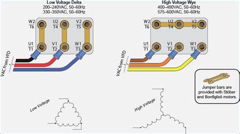 3 Phase Siemens induction motor 6 leads wiring method