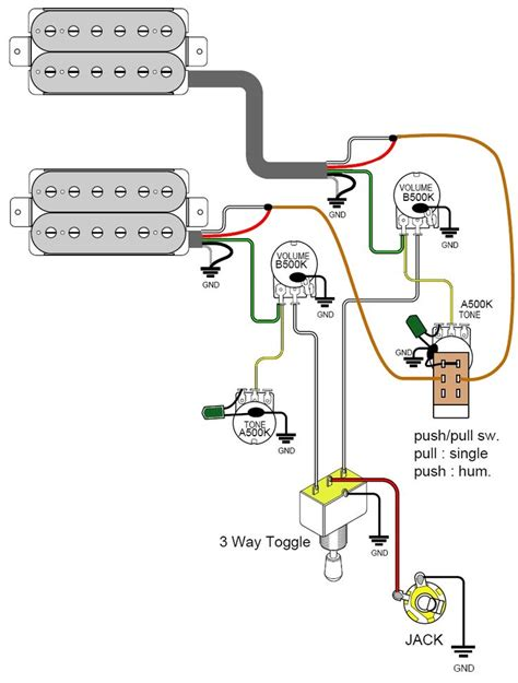 single coil pickup wiring diagram single wiring diagrams
