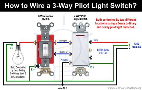 switch pilot light wiring diagram images 3 way switch pilot light wiring diagram image