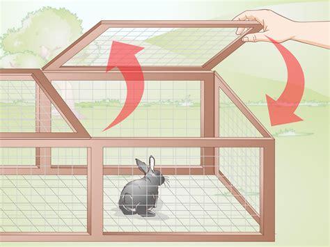3 Ways to Build a Rabbit Run wikiHow