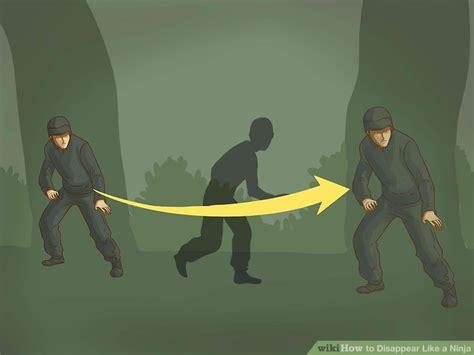 3 Ways to Disappear Like a Ninja wikiHow