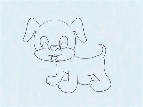 3 Ways to Draw a Cute Puppy wikiHow