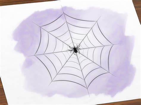 3 Ways to Draw a Spider Web wikiHow