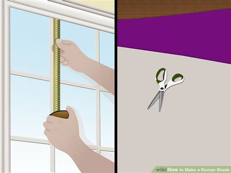 3 Ways to Make a Roman Shade wikiHow