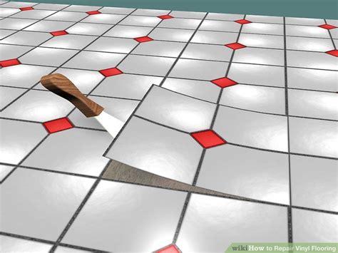 3 Ways to Repair Vinyl Flooring wikiHow