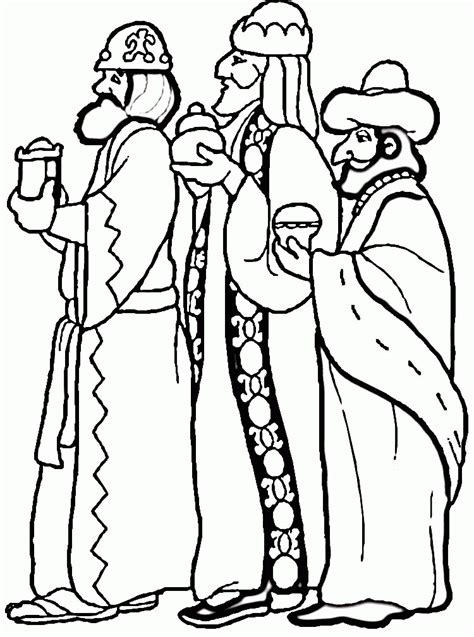 3 Wise Men coloring page Free Printable Coloring Pages