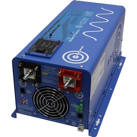 3000w inverter with charger 12V 24V DC to 110V YouTube