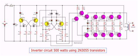 300W inverter power 24Vdc to 220Vac by MJ15003 CA3130