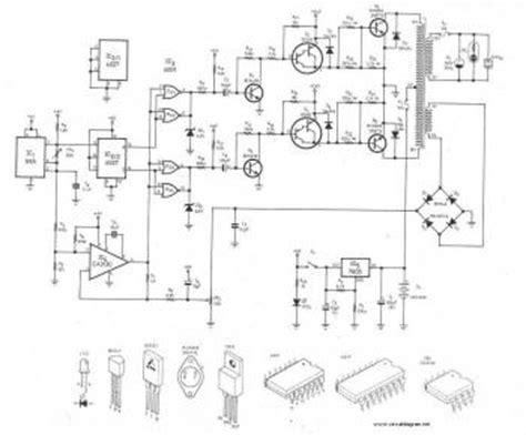 300Watt Inverter DC 24V to AC 220V Schematic Design