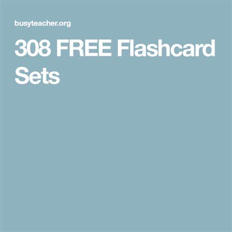 308 FREE Flashcard Sets BusyTeacher Free Printable
