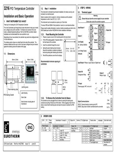3216 User Guide HVAC
