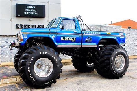 34 best bigfoot monster truck images on Pinterest Ford